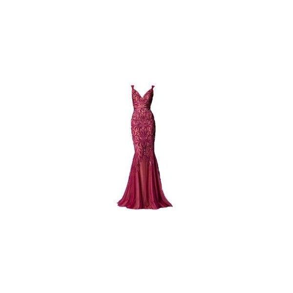 Zuhair Murad Autumn Winter ❤ liked on Polyvore featuring dresses, gowns, zuhair murad, long dress, vestidos longos, purple ball gowns, long purple dress, long dresses and zuhair murad evening gowns
