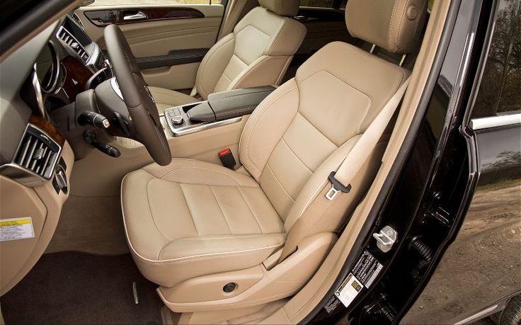 2013 Mercedes Benz ML350 Bluetec 4Matic Front Interior Seats