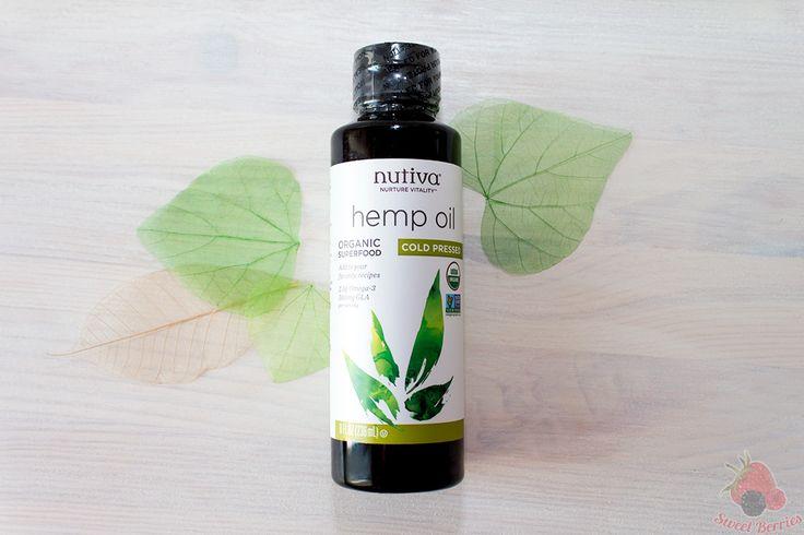 Конопляное масло Nutiva. Вкусно и полезно.