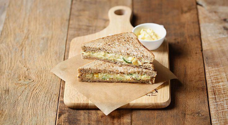 쉽고 건강한 간단 샌드위치, 매쉬 포테이토 샌드위치 - 올어바웃푸드