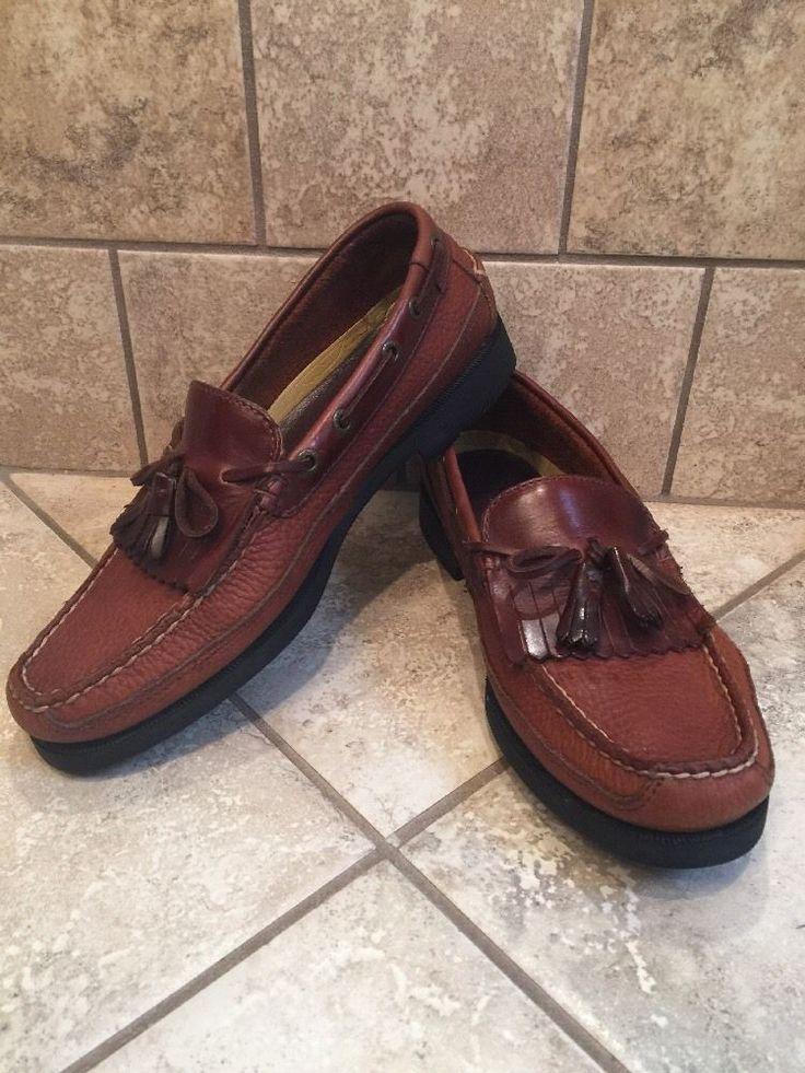 Sperry Top-Sider Men's 8 1/2M Loafer Kiltie w Tassle Brown Shoes 0673418  | eBay