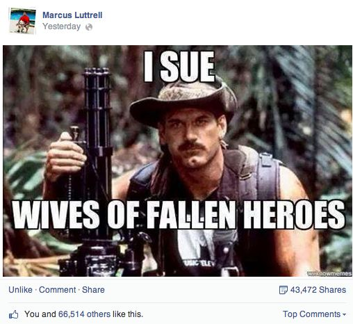 'Lone Survivor' Marcus Luttrell responds to Jesse Ventura's lawsuit against Chris Kyle