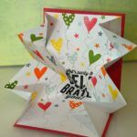 Explosion Box Handmade Cards for Your Sister Birthday - Handmade4Cards.Com