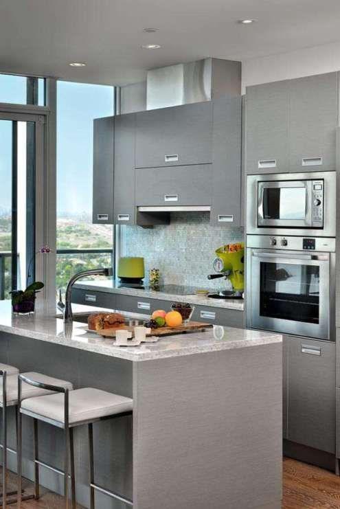 43 Cozinhas Pequenas E 8 Dicas De Como Decorar. Small Kitchen DesignsKitchen  IdeasKitchen ... Part 86