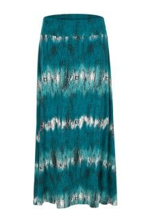Pacific teal maxi skirt #maxiskirt #summerstyle #tribalsportswear #skirt #summer #fashion #style