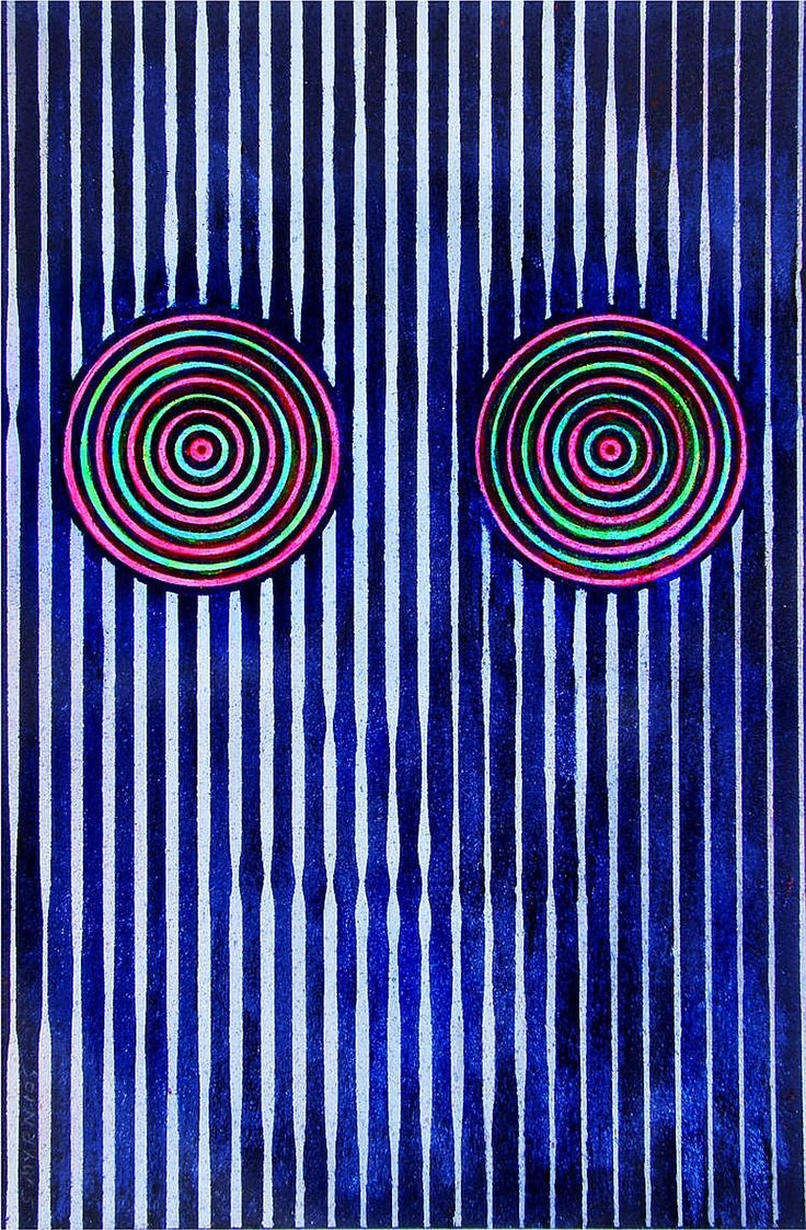 Optical illusion. #zienrs #grafisch #kunst #vormgeving #kijken #illusie