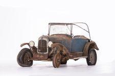 """Citroën Type C 5 HP torpédo """"trèfle"""" - 1924. Artcurial Motorcars, Rétromobile 2015, Vente N° 2651 (Collection Baillon) - Lot N° 14."""