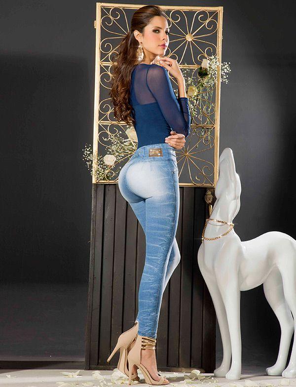 Catalina Valencia #Jeans# #ModelinJeans#