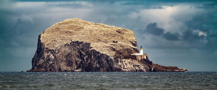 How retouching brought a photograph of Bass Rock, Scotland back in line with reality.