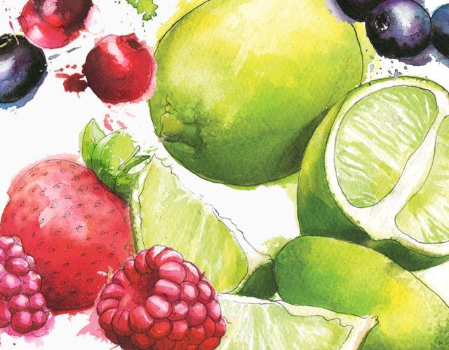 Fruit Art Paintings