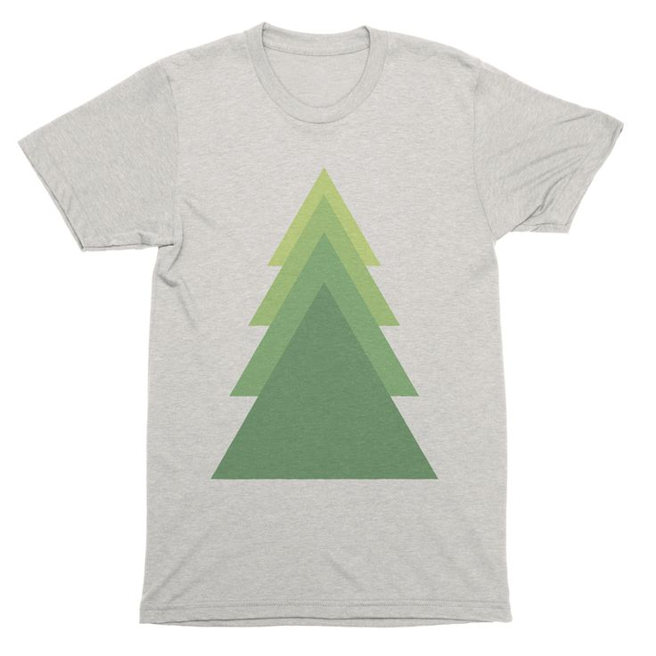GREEN TREE | TRI-BLEND T-SHIRT