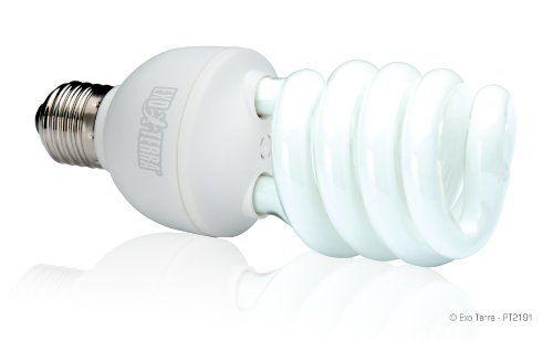 Exo Terra Repti-Glo 2.0 Compact Fluorescent Full Spectrum Terrarium Lamp, 26-Watt (Natural Light)  US $13.99 & FREE Shipping  #bigboxpower