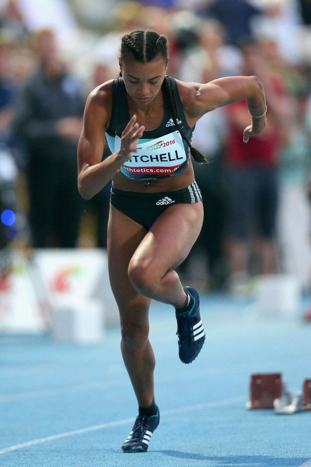 This is her running: | Sorry To The American Olympic Team But Morgan Mitchell…