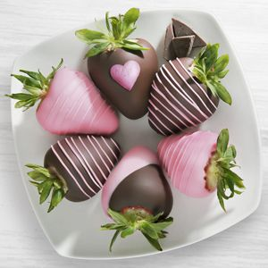 Chocolate Dip Delights™ Mother's Day Love Chocolate Covered Strawberries - 6-piece