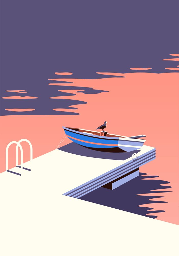 When Malika Favre was invited on a week-long trip to the Canary Islands to create a series of illustrations for a project called On The Draw, she assumed it was some kind of scam. It seemed too good to be…