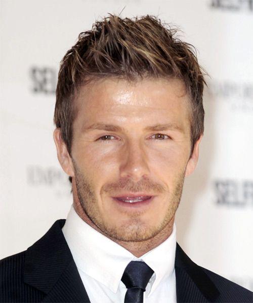 David Beckham Short Hair