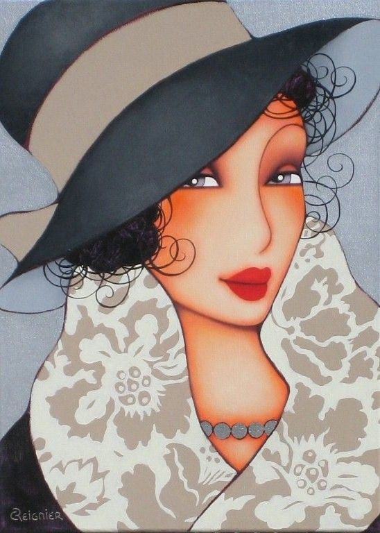 ...Corinne Reignier I love this woman's work!