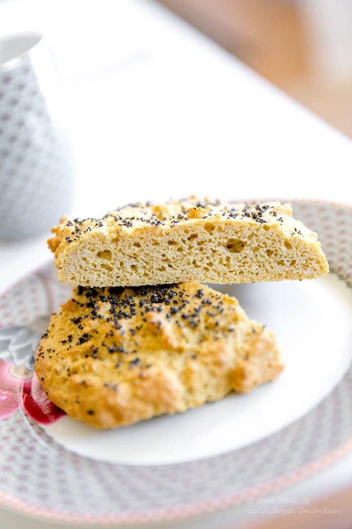Mandelbröd glutenfritt, mejerifritt, lågkolhydrat enl 56.kilo