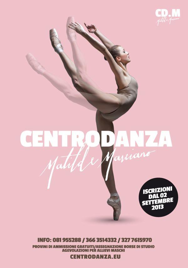CentroDanza by Giovanna Grauso by Giovanna Grauso, via Behance