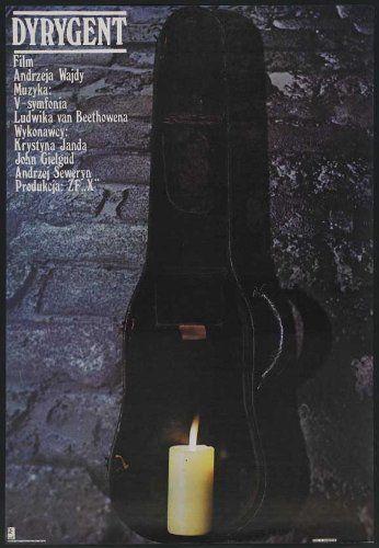 "The Conductor (1980) ""Dyrygent"" (original title) Stars: John Gielgud, Krystyna Janda, Andrzej Seweryn ~  Director: Andrzej Wajda  (Winner of 3 awards & 1 nomination)"