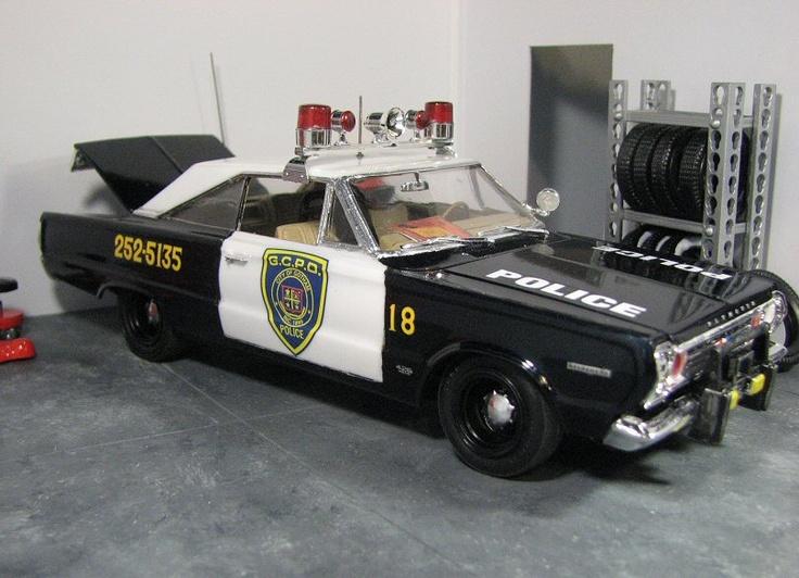 Gotham city police 1966 my scale models pinterest
