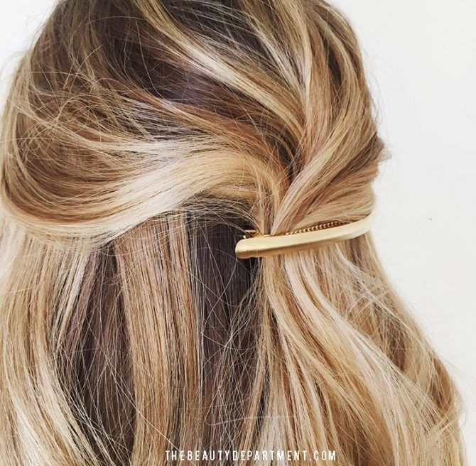 5 hairstyles you COULD do in the car if you were late...
