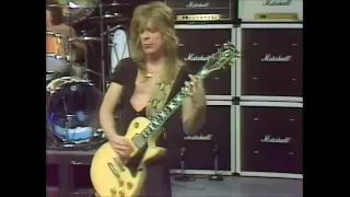 Randy Rhoads LIVE: Crazy Train 1981 - Enhanced 2014 - Best Quality HQ - After Hours TV show - YouTube