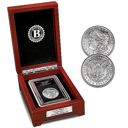 The Only 1888-O Hot Lips Morgan Silver Dollar Coin