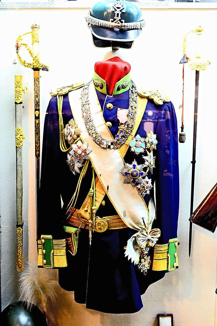 Uniform of King Carol I of Romania