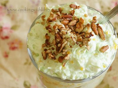 Cooking With Libby: Watergate Salad