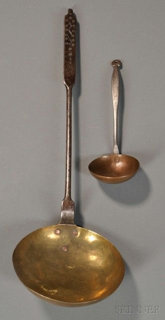 Two Hearth Ladles | Sale Number 2608M, Lot Number 739 | Skinner Auctioneers