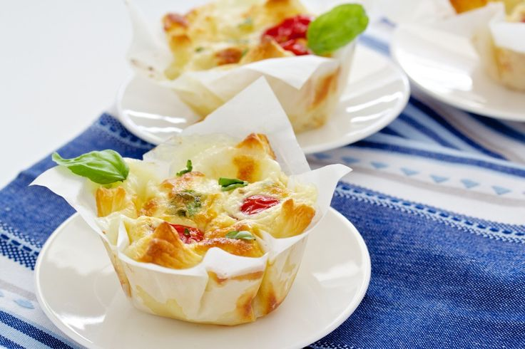 Tomate-Mozzarella-Blätterteig-Körbchen | Fine, Fresh & Food