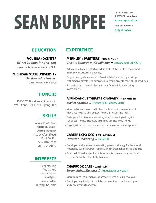 Creative Manager Resume. creative director resume sample marketing ...