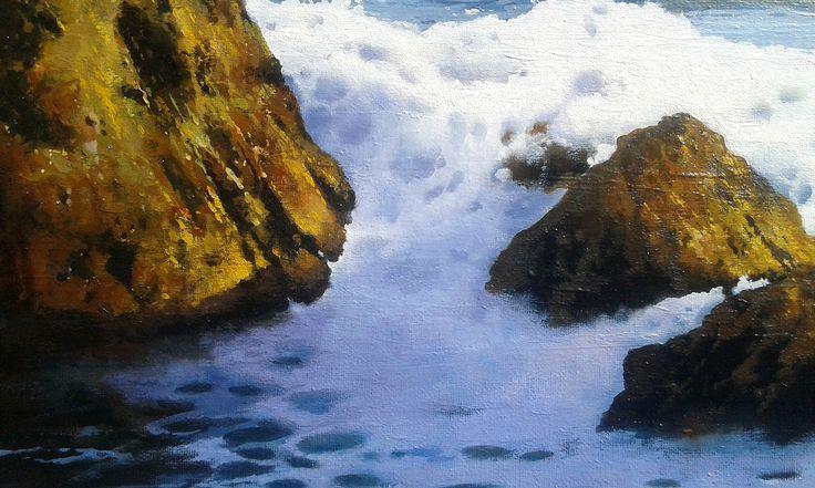 Detalle. Mar del Norte by Jose Higuera
