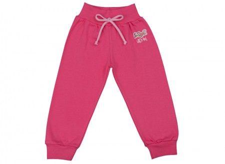 Pantalonaşi cu bandă lată în talie roz fucsia 100% bumbac | Cod produs: NID167