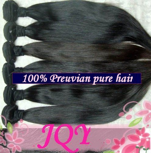 94 best hair care hair extensions wigs images on pinterest aaaa grade 100 peruvian remy human hair weft real virgin peruvian hair extensions silk straight pmusecretfo Images