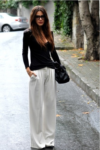 67 best How to wear wide pants images on Pinterest