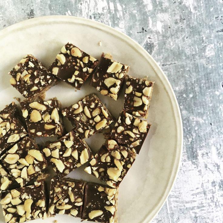 No-bake pinda-chocokoeken