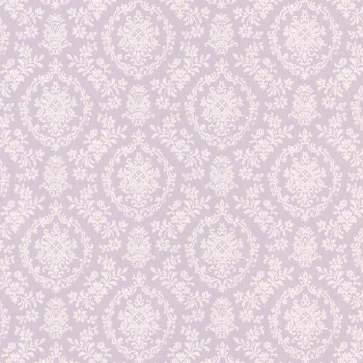 Tapete Isabella Damask lila 'Dollhouse'