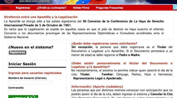 Apostillar Título Universitario - Tramites Públicos Venezuela