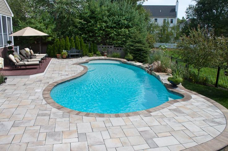 Pool Design Options Northern Pool Spa Me Nh Ma Pool Pavers Swimming Pools Backyard Pool Designs