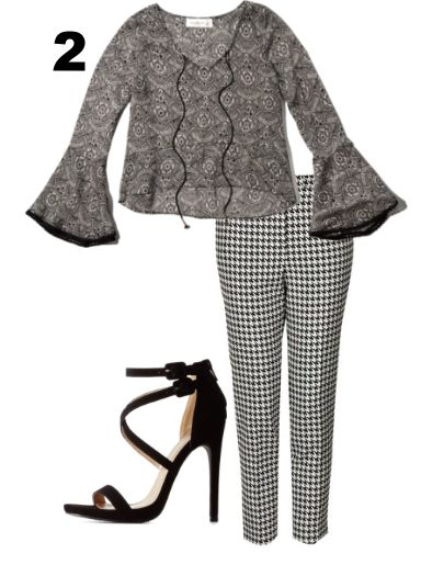 pattern mixing outfit ideas | trufflesandtrends.com