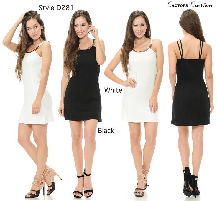"""""""Style D281"""" Tejido ligero, con rosca de plata en el cuello redondo y una textura ligeramente acanalada, formas un corpiño ajustado apoyado por correas de espagueti dobles que atan en la base de la espalda. el largo muestra las hermosas piernas y la cintura encantadora, perfecto para el cóctel, fiesta de noche, bodas, citas, ocasiones esporadicas o especiales, exuda su feminidad y la elegancia, se atractiva y se el centro de atención entre la multitud. Adecuado para todas las estaciones…"""