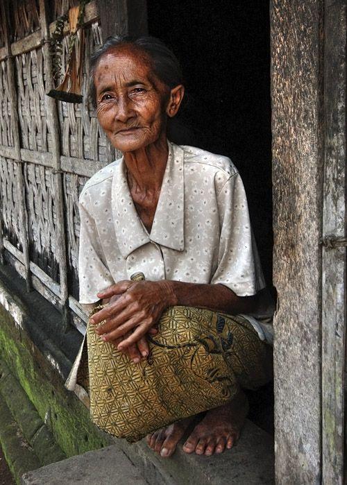 Last of a generation - Panglipuran village, Bali