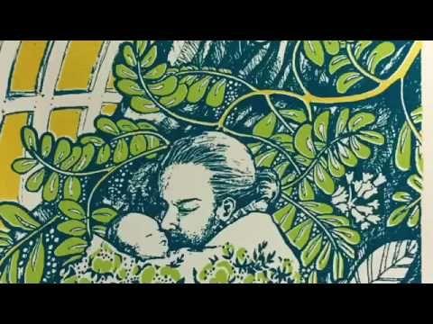 Video by Satu Laaninen (Niemi) how to make screen prints. Serigrafia kymmenessä minuutissa selitettynä - YouTube