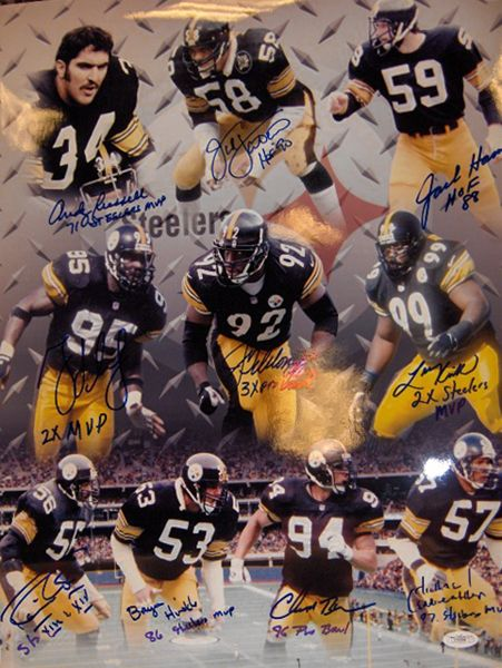 steelers hall of fame players | Currently Viewing: NFL - Player Pages - Hall Of Fame - Jack Lambert