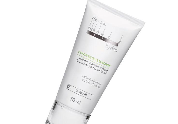 Chronos Hydra Hidratante Protetor Facial Controle de Oleosidade FPS30 FPUVA 10 - 50 ml