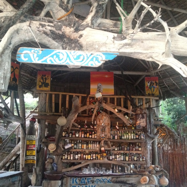 Bar at Kae Funk - Zanzibar