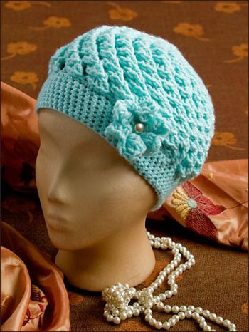Annie S Attic Chemo Caps Amp Wraps Crochet Pattern This
