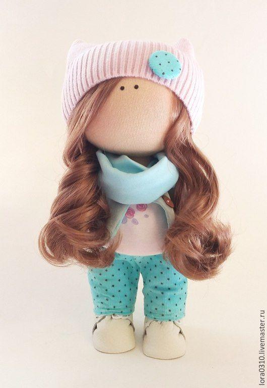 Купить Лилу - текстильная кукла, интерьерная кукла, ручная работа, авторская кукла, подарок девушке